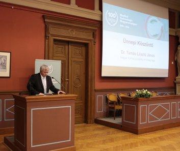 Ünnepi köszöntő - Dr. Tamás László János - a Magyar Kórházszövetség  elnökség tagja, főigazgató főorvos
