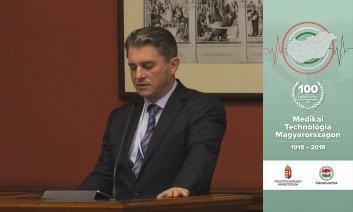 Ünnepi köszöntő - Dr. Mészáros János Egészségügyi ellátórendszer működtetéséért felelős helyettes államtitkár