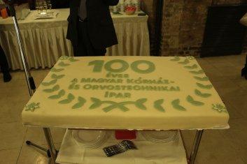 Állófogadás - 100 év torta 01